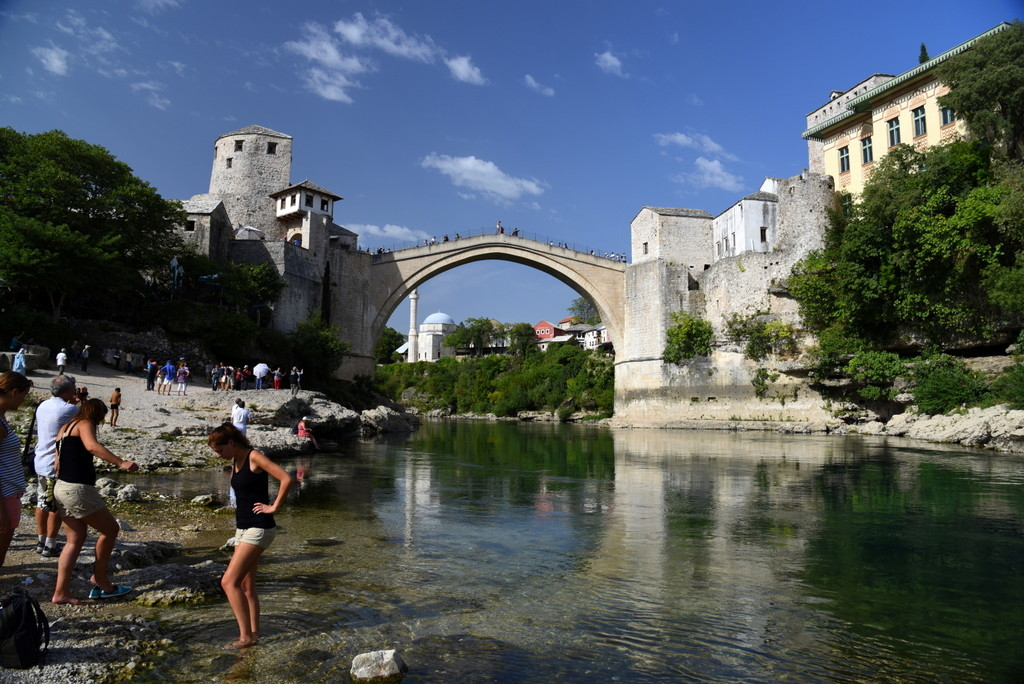 Cameron-Bosnia-Mostar-Bridge View 1