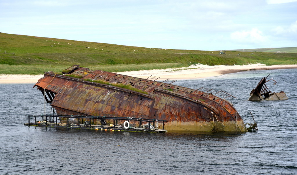 Cameron Scotland Orkney Wartime Shipwrecks