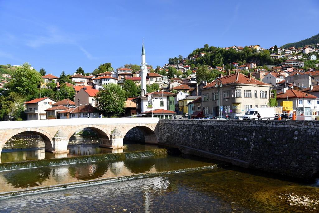 Cameron-Bosnia-Sarajevo-River Scene