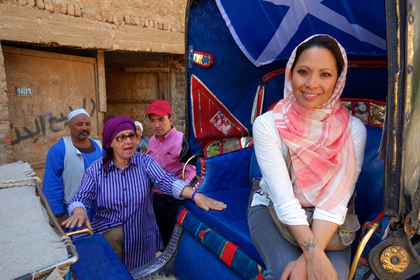 While I initially began wearing the headscarf out of respect for the culture, I really began to enjoying wearing it quite a bit. (photo by Rick Steves)