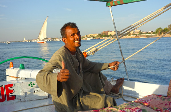 While travel to Egypt comes with plenty of uncertainty, one thing is sure: If you travel thoughtfully, you'll be charmed by a warm welcome from beautiful people.