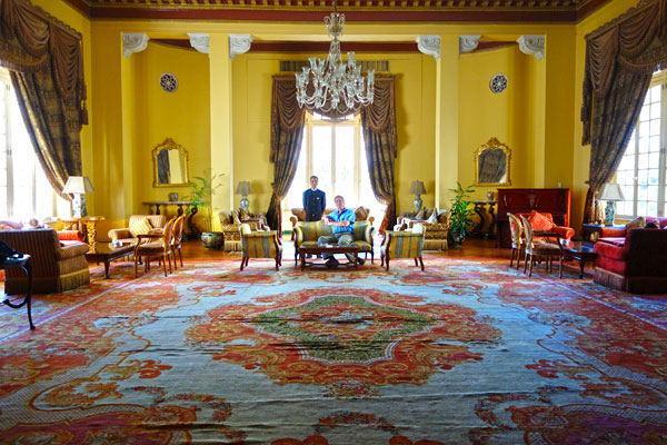 Staying at the Winter Palace in Luxor (for the price of a basic hotel in London) you live like a king. I was even assigned my own butler.