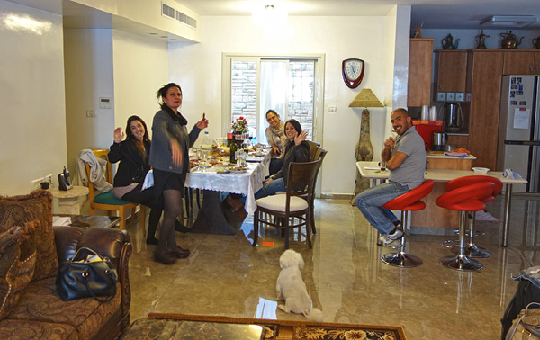 We made new friends who invited us home for a family Independence Day party. It's easy to find yourself welcomed into an Israeli home on this festive day.