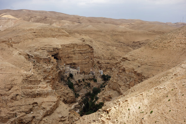 The Monastery of St. George, built on cliffs above a natural spring, dates to the 6th century. For 1,500 years, its monks have lived lives of isolation and meditation inspired by Jesus.