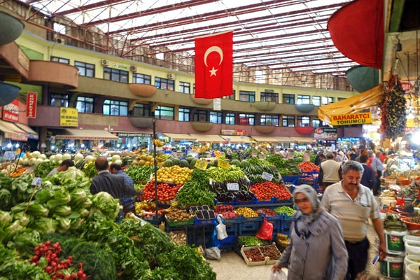 Konya's market hall is just one colorful dimension of this fascinating city.