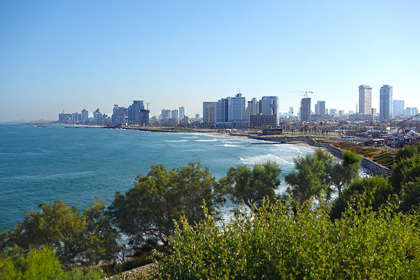 In 1908 Tel Aviv was just a big sand dune. Born in 1909, the city today feels like San Diego. Of the almost eight million people in the country, more than three million live in the greater Tel Aviv area. The relative prosperity among Israel and its neighbors is striking. Waking up on my first morning here, I looked out my hotel window at the wonderful sandy beach (which is made of sediment from the Nile River). Pondering the joggers and kayakers getting in their morning exercise, I kept thinking its as if someone put California in the middle of Mexico.