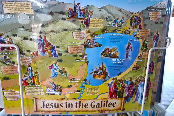 Christian Tourists Flock to the Sea of Galilee – Map Of Jesus Travels