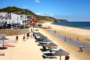 Salema, the Back Door jewel of the Algarve, comes with a delightful sandy beach overlooked by characteristic restaurants and the tranquil strum of a steady surf