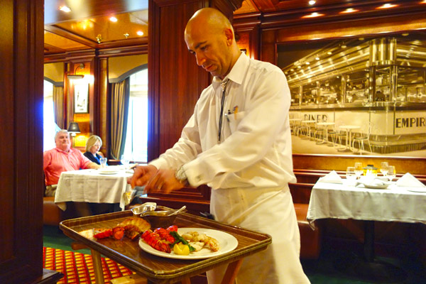 These days, any cruise ship will offer premium restaurant options for an extra fee. On our Princess Line ship, we paid $25 extra apiece several nights to enjoy the fine-dining options...and loved it.