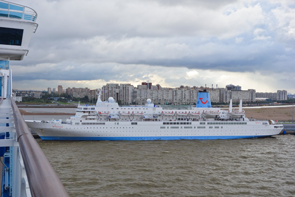St. Petersburg's Marine Facade cruise port can host a fleet of cruise ships at the same time. From here a city of five million awaits exploration.