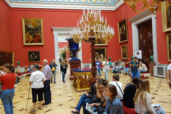 "The last time I visited the Hermitage, I knew it had an awe-inspiring collection. But it was dingy and poorly displayed. After my recent visit, I'd give the Hermitage ""the most improved museum in Europe"" award. It is dazzling — both the art and the palace in which the art hangs."