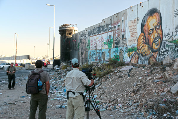 Walls are ugly. They may be necessary, but they represent a diplomatic failure. While it can look almost pretty from the Israeli side, the wall is unfinished and depressing from the Palestinian side.