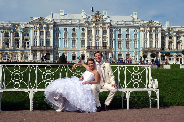 A continent away in St. Petersburg--as brides and grooms posed for wedding portraits, filling city parks with hope and happiness--I realized why President Putin is so popular in Russia: It's a land where dreams of stability trump dreams of democracy.