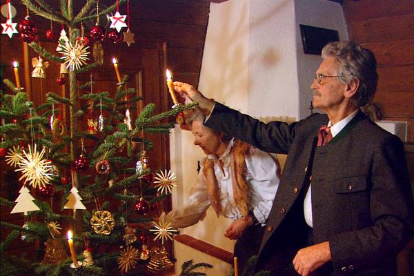 from pre christmas tree to o tannenbaum - European Christmas Tree