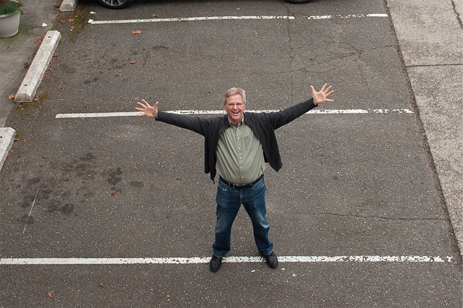 Thirty years ago only one guide led a Rick Steves tour. His name was Rick Steves.