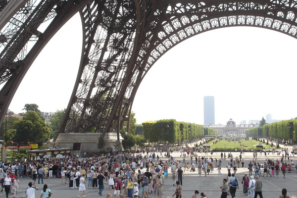 You can avoid lines, bypass crowds, and zip up the Eiffel Tower if you've booked your ticket ahead of time.