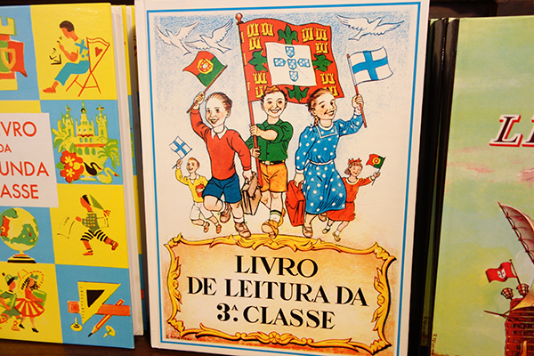 The Dictator's School Books: Portugal has come a long way in the last generation. They overthrew their authoritarian government in the early 1970s--four years after the death of long-term dictator António Salazar. It's amazing to think that within living memory Hitler, Mussolini, Franco, and Salazar were all buddies in Europe's club of Fascist dictators. Today, you can buy textbooks reprinted from a time when schools were propaganda tools of the government.