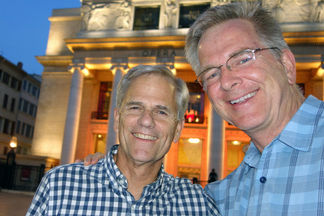 Steve Smith and Rick Steves