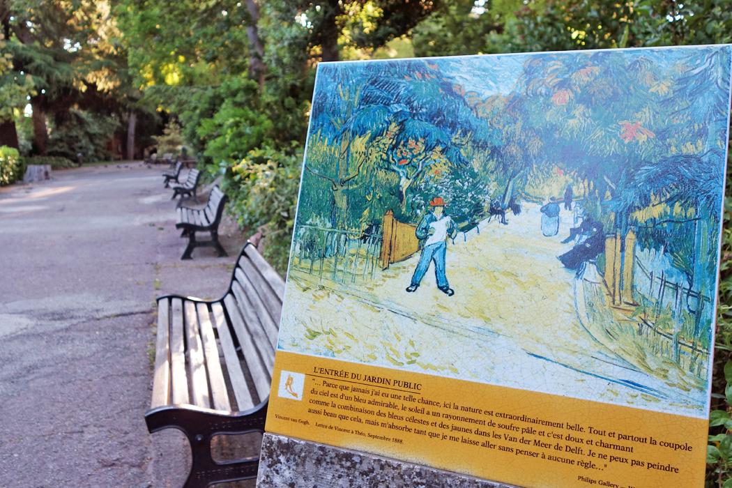 Walking in van gogh s footsteps in arles rick steves for Jardin lamartine