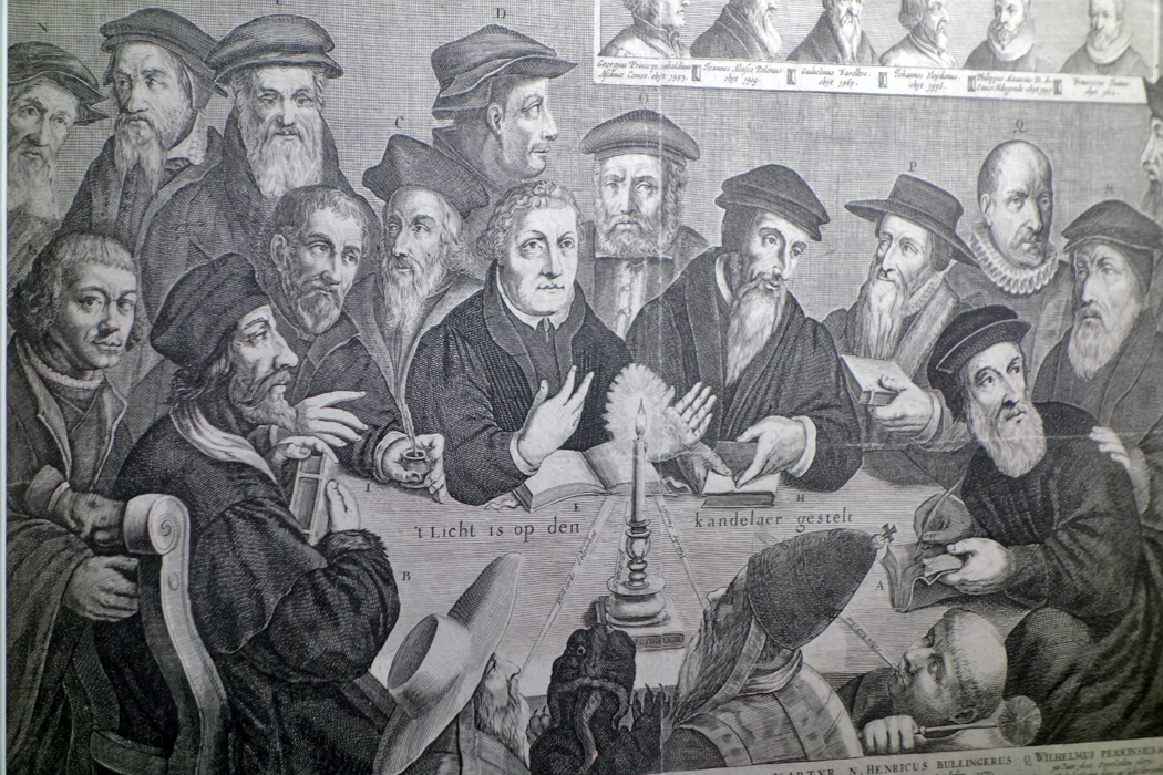 Etching of the Great Reformers