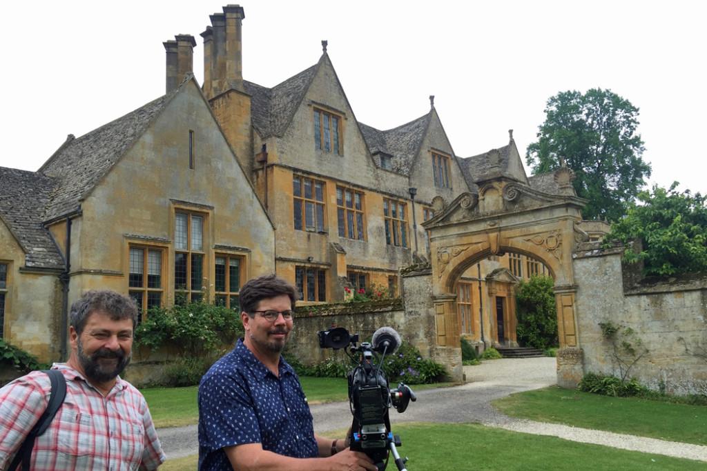 Simon Griffith and Peter Rummel and Stanway House