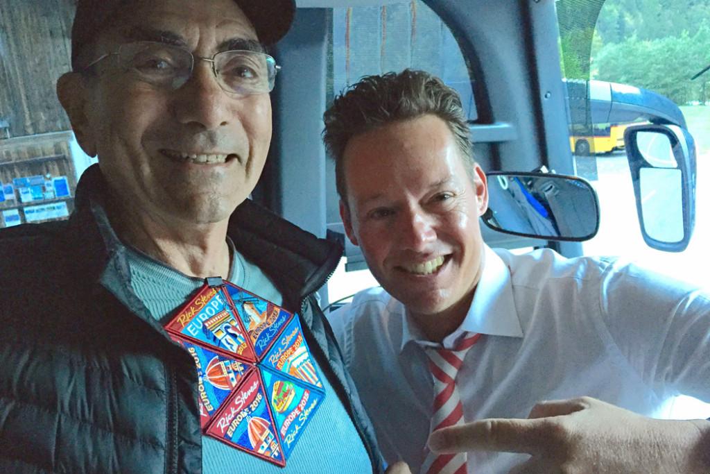 Richard And Tour Member