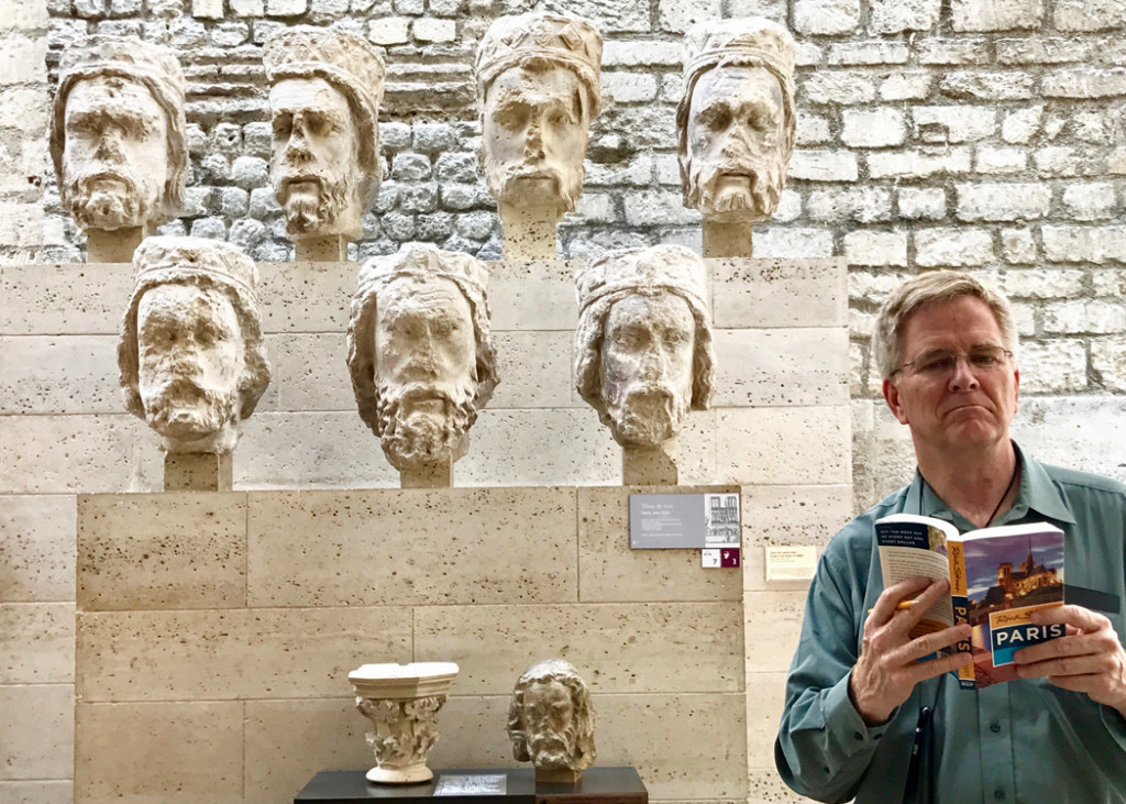 Rick Steves At Cluny Museum