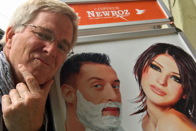 Rick Steves clean shaven