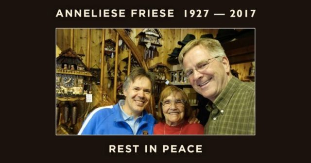 Anneliese Friese, rest in peace