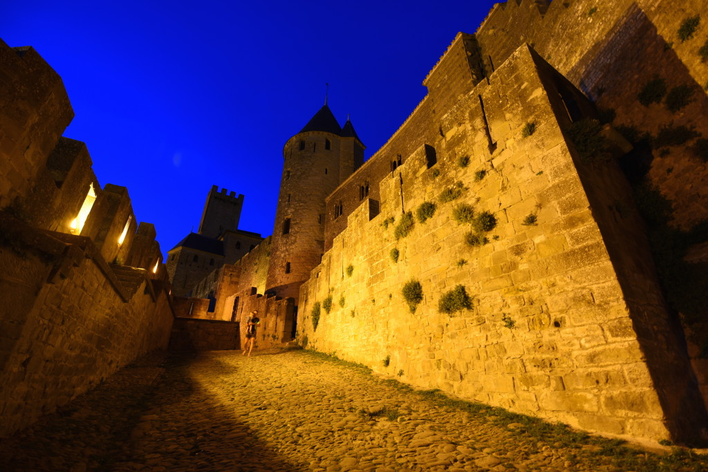 Carcassonne Floodlights