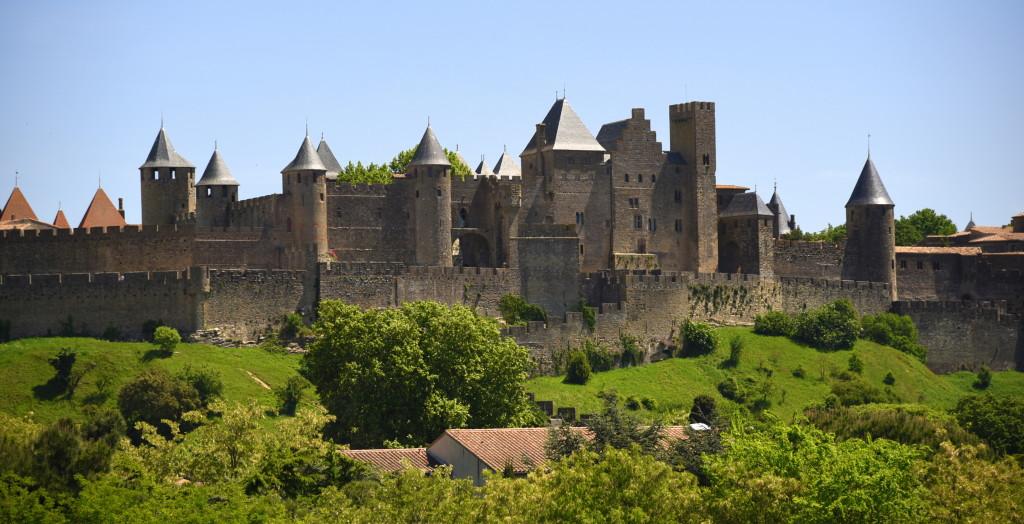 Carcassonne skyline