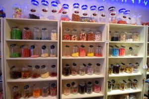 Sweets Shelves