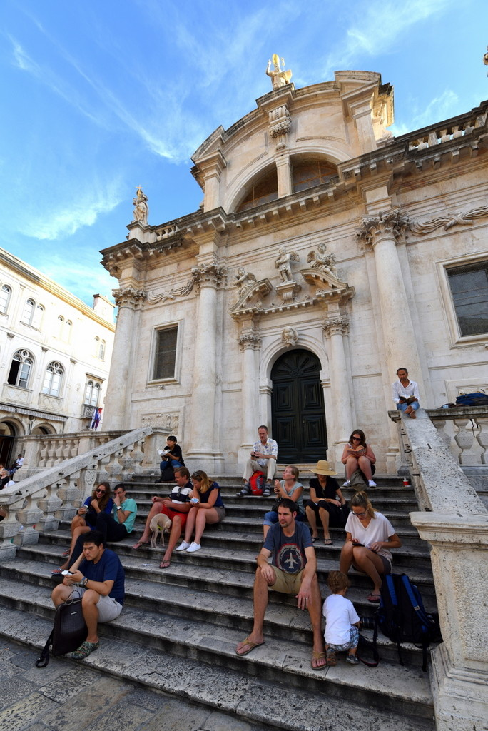 Cameron-Croatia-Dubrovnik-Church Steps