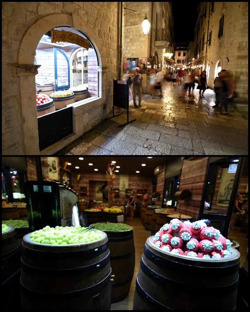 Cameron-Croatia-Dubrovnik-Cranky Candy
