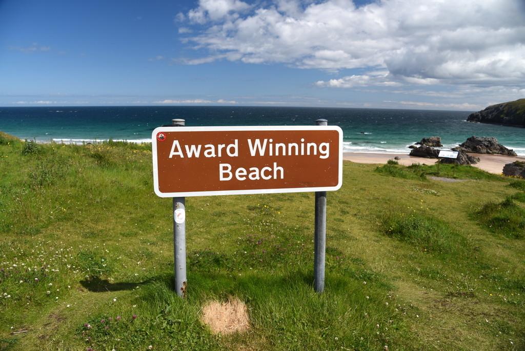 Cameron-Scotland-British Sign-Award Winning Beach