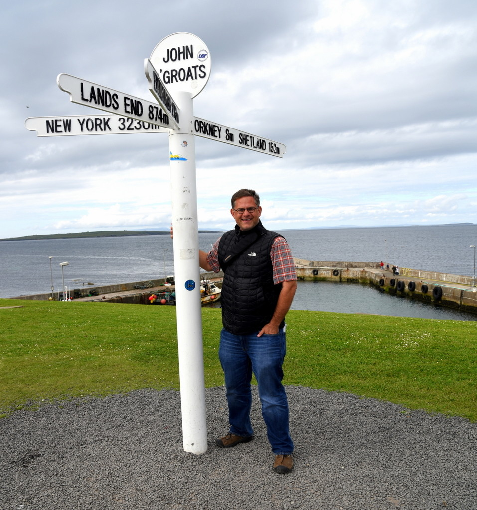 Cameron Scotland Out of Gas John O'Groats