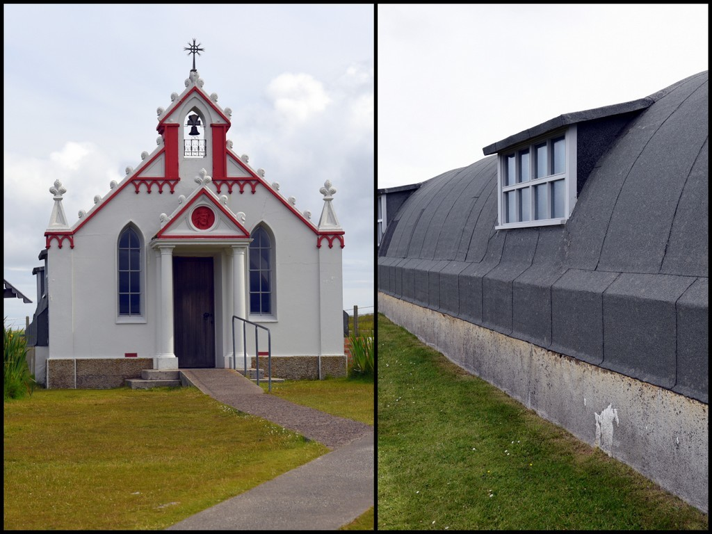 Cameron Scotland Orkney Italian Chapel Exterior