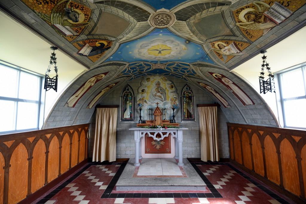 Cameron Scotland Orkney Wartime Italian Chapel Interior