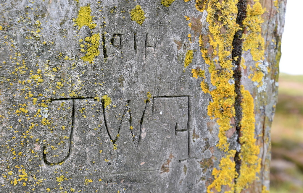 Cameron Scotland Orkney Ring of Brodgar Graffiti