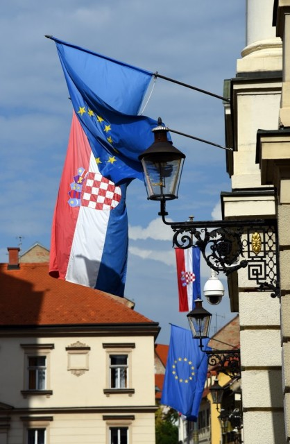 Cameron-Croatia-Zagreb-Flags