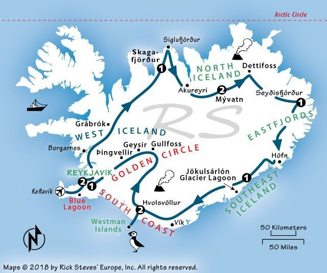 picture relating to Iceland Map Printable named How in direction of Enthusiasm Icelands Ring Highway: The Final 800-Mile Highway