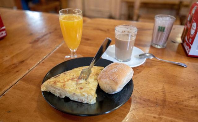 Breakfast in Madrid