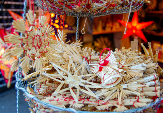 When my sister and I were growing up, our Christmases took on a Swiss flavor. Our tree decorations included vintage straw ornaments from Swiss Christmas ...