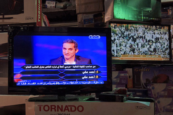 Bassem Youssef, Egypt's Jon Stewart, is using political comedy on TV — and is fast becoming a voice of the people as well as their hero.