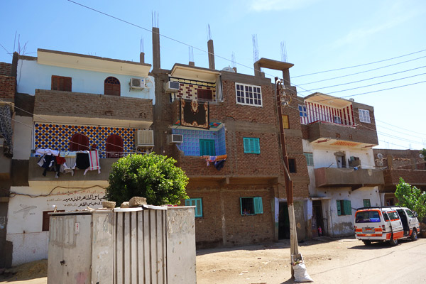 Throughout the Middle East, exposed rebar is a reminder that parents build equity and provide for their children's security by continuously adding to their homes as they gather a little extra cash.