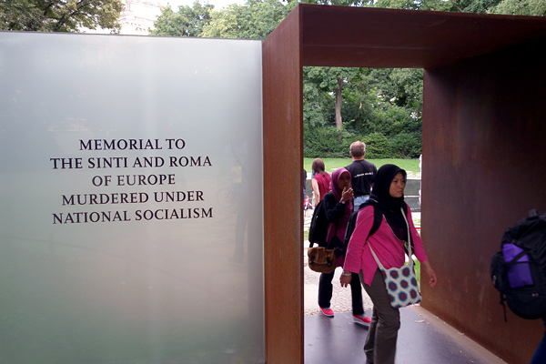 Monument to the Murdered Sinti and Roma (Gypsies) of Europe