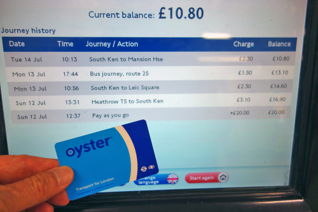 Oyster FAQs: how to use your card - visitlondon.com