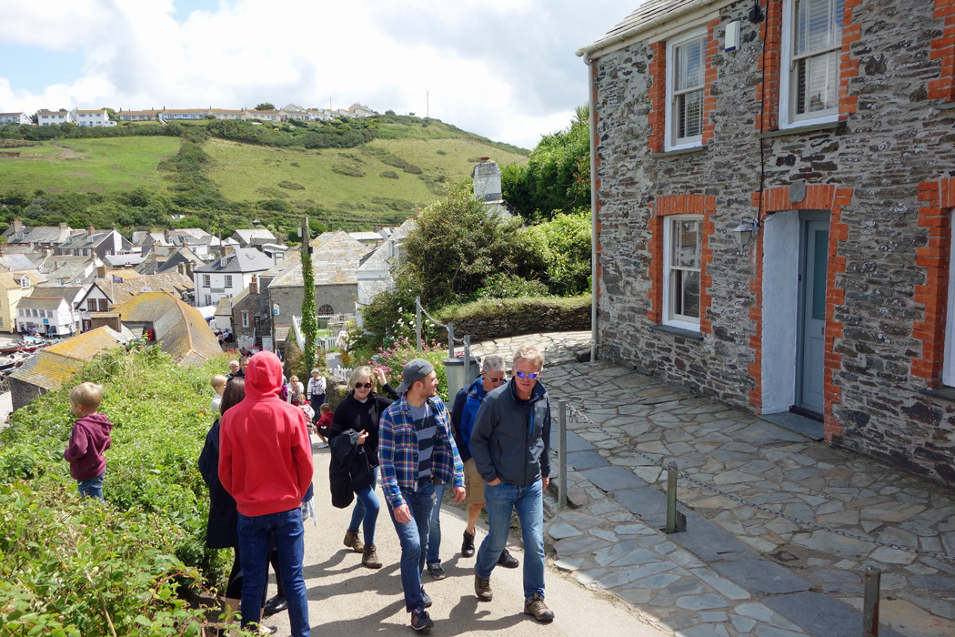 Doc Martin Cottage And Pathway
