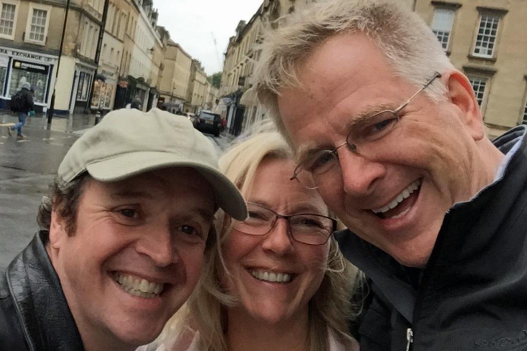 Rick Steves, Noel Britten and Maddy Thomas