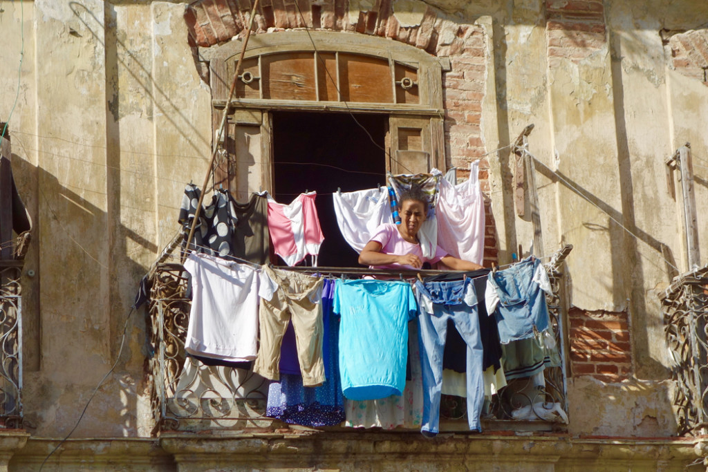 Laundry balcony